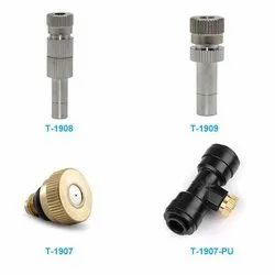 Fogger Brass Nozzle for Sanitizing Tunnel