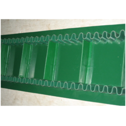 Sidewell Cleated PVC Conveyor Belts