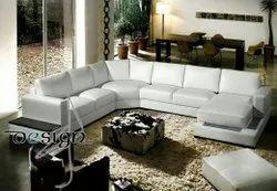 SHUBH-LA Wooden Modular Sofa Set, Living Room, Seating Capacity: 5 Seater