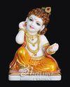 Marble Makhan Chore Krishna Statue