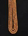 Fanta Mandarin Garnet Faceted Beads