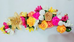 Flowers Hair Brooch