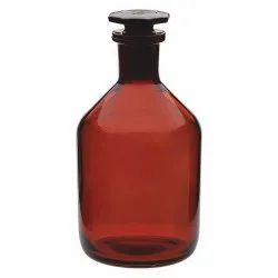 Amber Glass Narrow Mouth Reagent Bottles