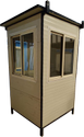 Fabricated PUFF Security Cabins