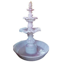 White Fiber Water Fountain