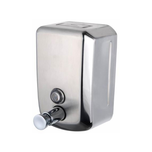Stainless Steel Manual Soap Dispensers, Capacity: 1000 Ml