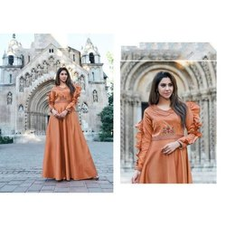Ladies Tapeta Silk Gown, Size: S-XXL