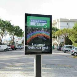 Printed Advertising Board