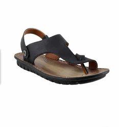 a83a9d789dd283 men black sandals. Davinchi 14-9301-Black Casual Sandals