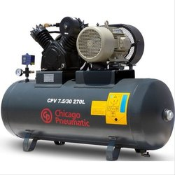 Chicago Pneumatic Reciprocating Air Compressor