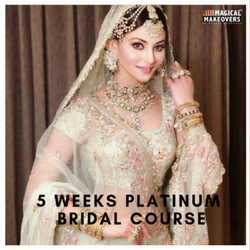 5 Weeks Platinum Bridal Makeup and Hair Course