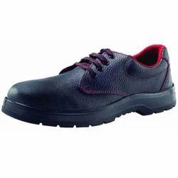 黑色皮革安全鞋