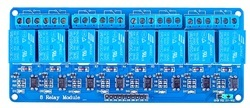 8 Channel 5V Relay Module for Arduino