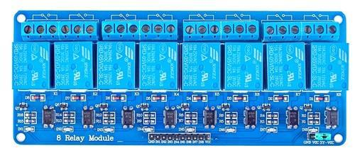 8 Channel 5v Relay Module For Arduino on