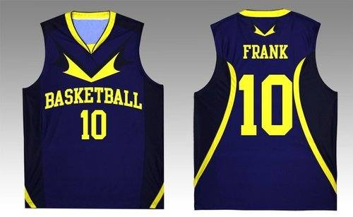 4d207e86e1b Blue And Yellow Mens Basketball Jersey, Rs 450 /set, Gag Wears | ID ...