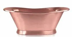 Hammered Double Slipper Copper Tub NJO-7507