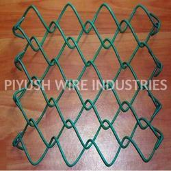 PVC Coated GI Sports Field Chain link Fencing, For Sports Field / Ground
