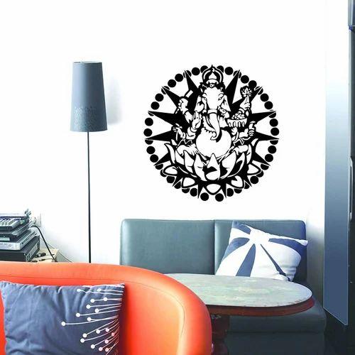 a122434ec65 Amazon Brand - Decor Kafe Lord Ganesha Wall Stickers PVC Vinyl ...