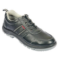 Leather Linear Safety Shoes,Size: 6-11