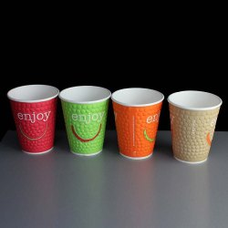 Multicolor Printed Disposable Paper Coffee Cup, For Parties, Capacity: 100 ML