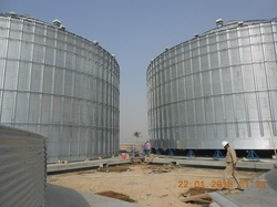Hydraulic Telescopic Jacks for Grain Storage Silos