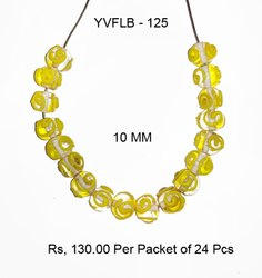 YVFLB - 125 Lampwork Fancy Glass Beads