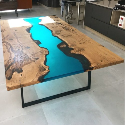 Epoxy Resin dining Table - Epoxy River Dining Table