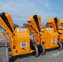 10/7 Hydraulic Concrete Mixer, 600 Kg, Capacity: 10 Cft Mixing Capacity