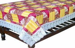 Rectangular Printed PVC Table Cover, Size: 40x60 Inches