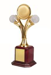 12 Inch Brass Gold Plated Trophy