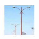 Double Arm Street Pole Light