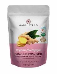 Organic Ginger Powder, 50 Nos, Packaging Size: 200g