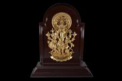 Fiber Shubha Drishti Ganapathy Wall Hanging and Tabletop
