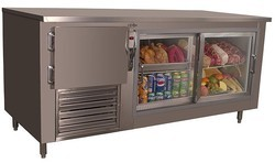 Stainless Steel Under Counter Refrigerator, Electricity