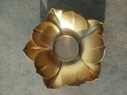 Metal Lotus Candle Holder
