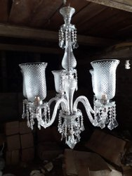 Candle-Style LED Custom Antique Chandelier