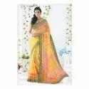 Multicolor Banarasi Checks Saree