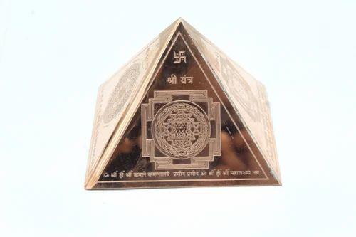 Vastu Products and Pyramids - Copper Vastu Pyramid With