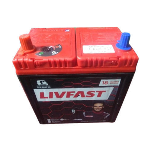 Livfast Car Battery, Warranty: 24 Months, Rs 3750 /piece