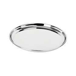 Round Stainless Steel Dinner Thali
