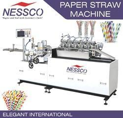 NESSCO Paper Straw Machine, Speed: 35-40 meters/min