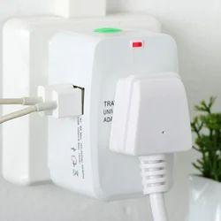 International Worldwide Travel Adapter with USB Ports