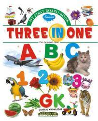 My First Board Book Three In One
