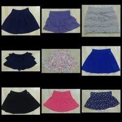 Girls Casual Wear Bottom Style Skirt