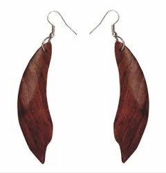 Wooden Earrings Base