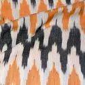 Halim Cotton Ikat Fabric, For Garments, Gsm: 100-150 Gsm