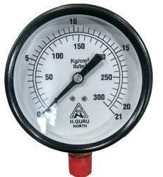 H.GURU 150MM Dial Commercial Pressure Gauge Bottom 3/8