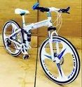 BMW White Foldable Cycle