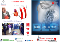 Certification course /Training on First Aid (BLS), CPR & AED Mgt