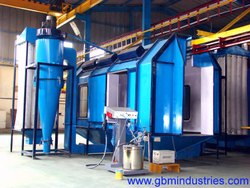 Conveyorised Back to Back Powder Coating Booth